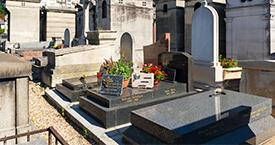 Płyty cmentarne po pogrzebie Białystok