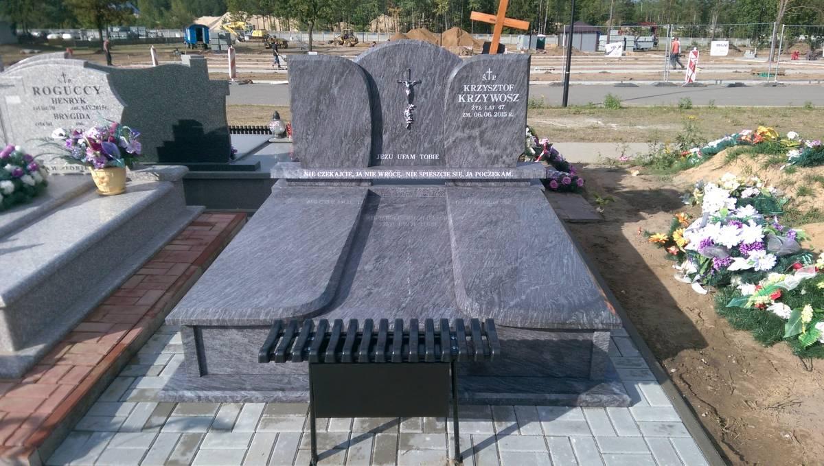 Pomnik z ławką z Białegostoku
