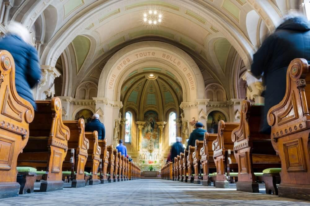 Kościół do organizacji mszy pogrzebowej