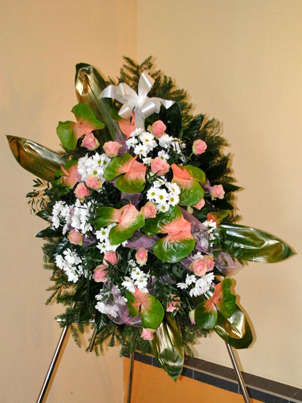 Wieniec pogrzebowy z centrum w Białymstoku